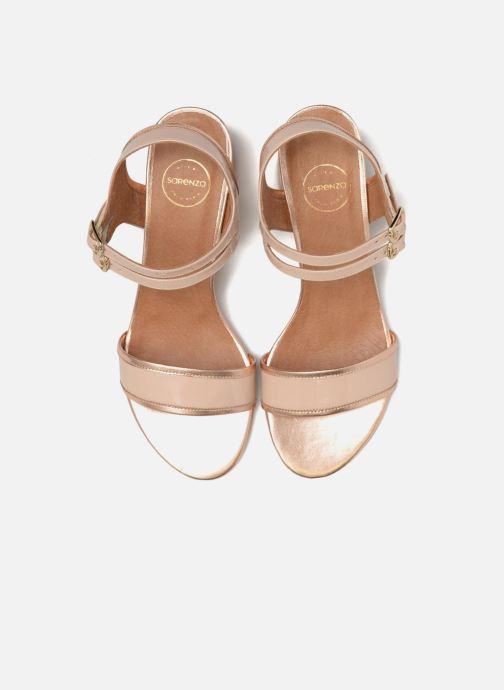 Sandalen Made by SARENZA Pastel Belle #11 rosa schuhe getragen