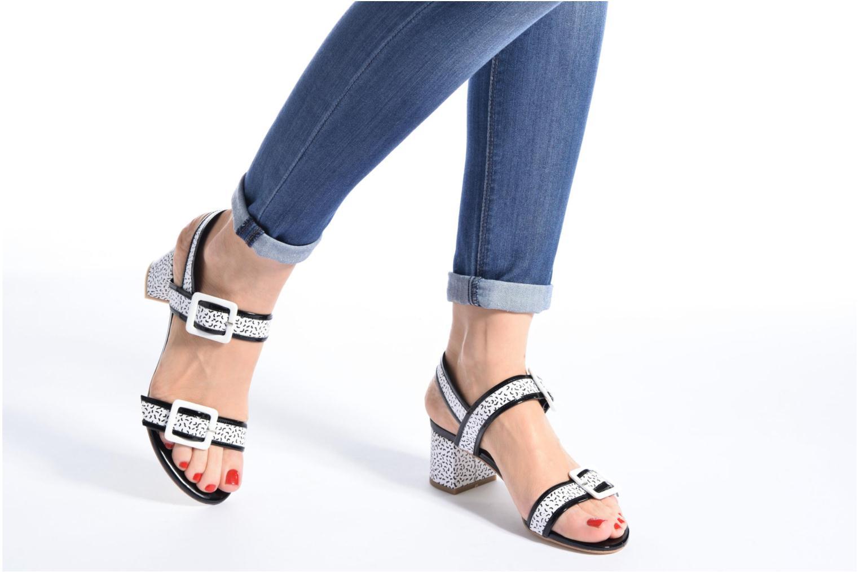 Sandales et nu-pieds Made by SARENZA Pastel Belle #4 Multicolore vue bas / vue portée sac