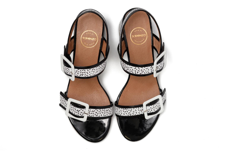 Sandales et nu-pieds Made by SARENZA Pastel Belle #4 Multicolore vue portées chaussures