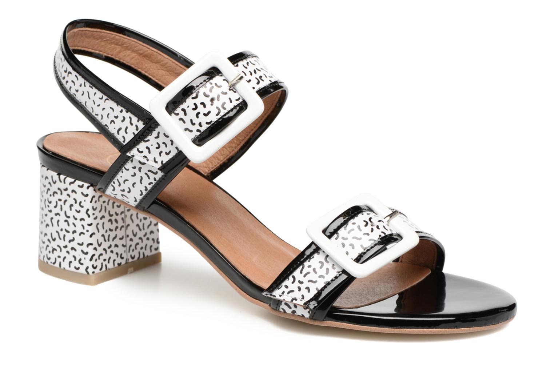 Sandales et nu-pieds Made by SARENZA Pastel Belle #4 Multicolore vue droite