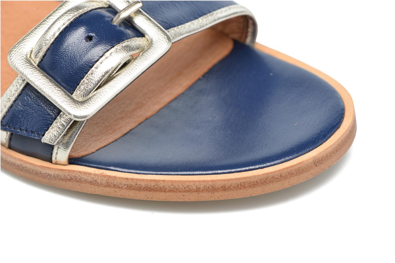 Sandalen Made by SARENZA Pastel Belle #3 blau ansicht von links