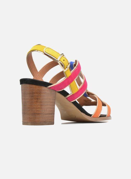 Sandales et nu-pieds Made by SARENZA Frida Banana #1 Multicolore vue face