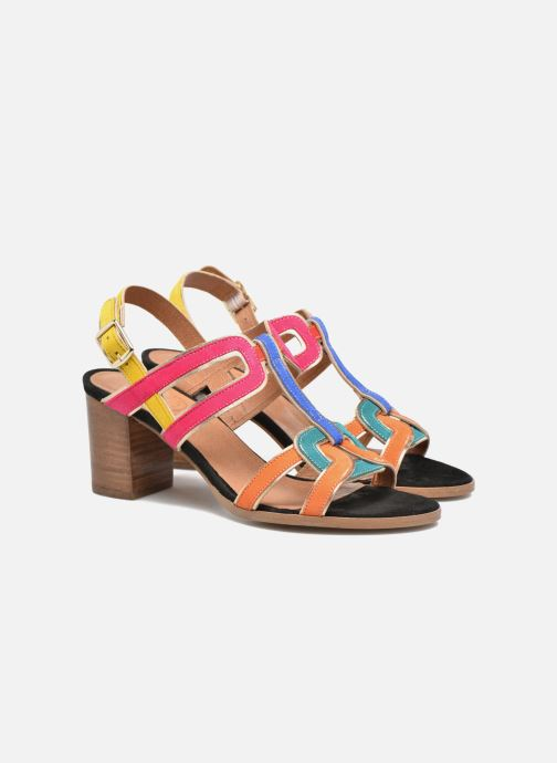 Sandales et nu-pieds Made by SARENZA Frida Banana #1 Multicolore vue derrière