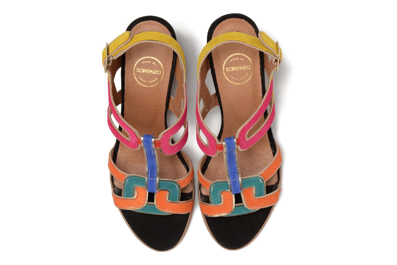 Sandali e scarpe aperte Made by SARENZA Frida Banana #1 Multicolore modello indossato