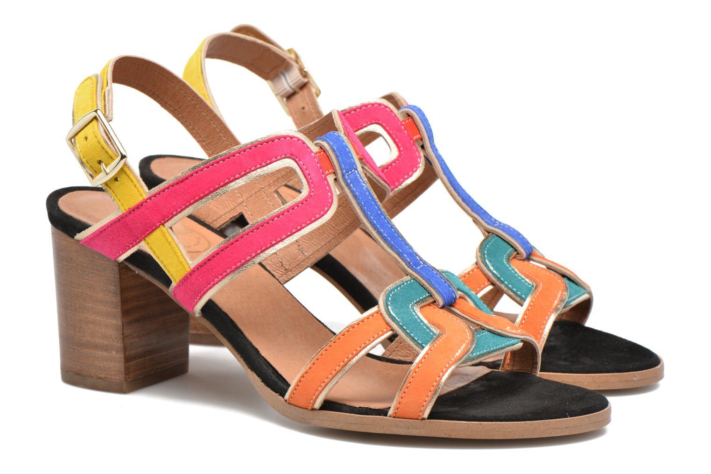 Sandali e scarpe aperte Made by SARENZA Frida Banana #1 Multicolore immagine posteriore