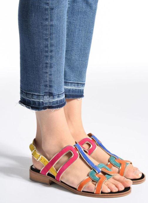 Sandalias Made by SARENZA Frida Banana #3 Multicolor vista de abajo