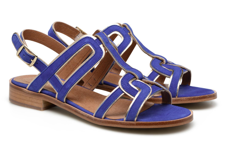 Sandalen Made by SARENZA Frida Banana #3 blau ansicht von hinten