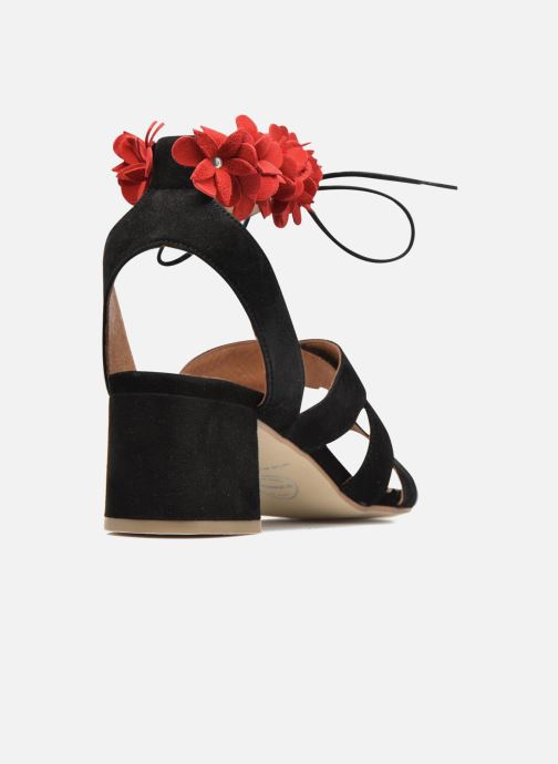 Sandalias Made by SARENZA Frida Banana #4 Negro vista de frente