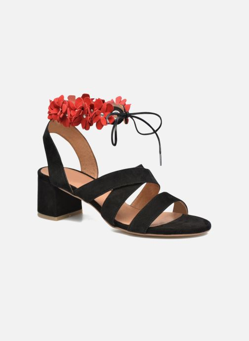 Sandales et nu-pieds Made by SARENZA Frida Banana #4 Noir vue droite