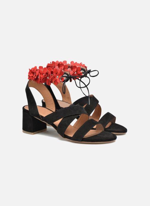 Sandales et nu-pieds Made by SARENZA Frida Banana #4 Noir vue derrière