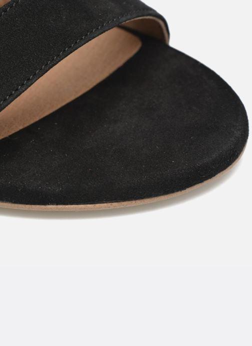 Sandalias Made by SARENZA Frida Banana #4 Negro vista lateral izquierda