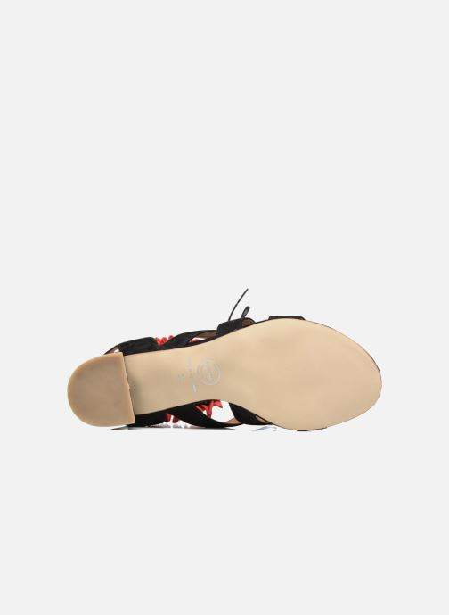 Sandales et nu-pieds Made by SARENZA Frida Banana #4 Noir vue haut