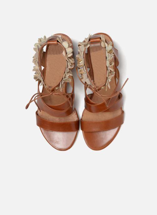 Sandales et nu-pieds Made by SARENZA Frida Banana #4 Marron vue portées chaussures