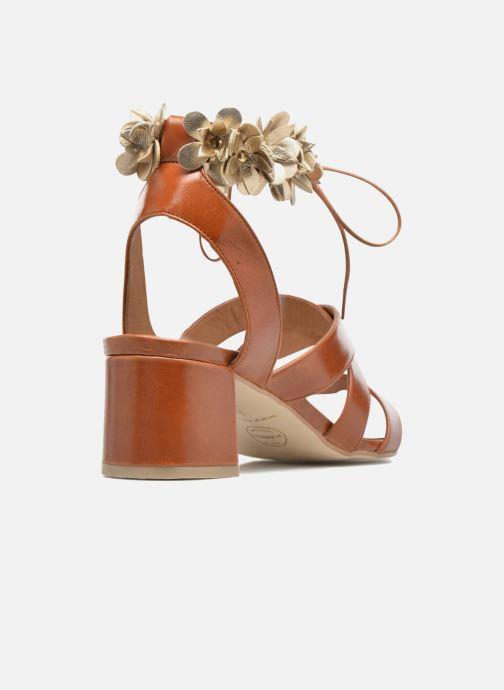 Sandales et nu-pieds Made by SARENZA Frida Banana #4 Marron vue face
