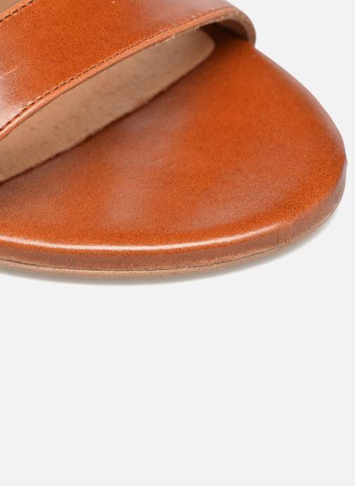 Sandales et nu-pieds Made by SARENZA Frida Banana #4 Marron vue gauche