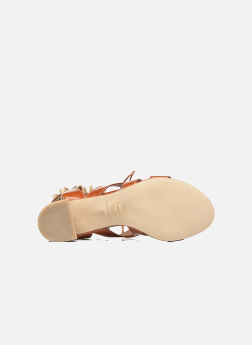 Sandales et nu-pieds Made by SARENZA Frida Banana #4 Marron vue haut