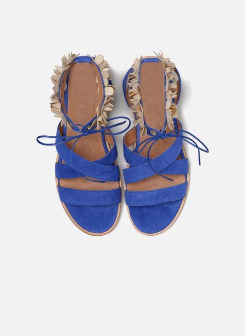 Sandales et nu-pieds Made by SARENZA Frida Banana #5 Bleu vue portées chaussures