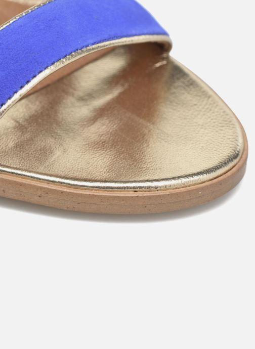 Sandalias Made by SARENZA Urbafrican Sandales à Talons #11 Azul vista lateral izquierda