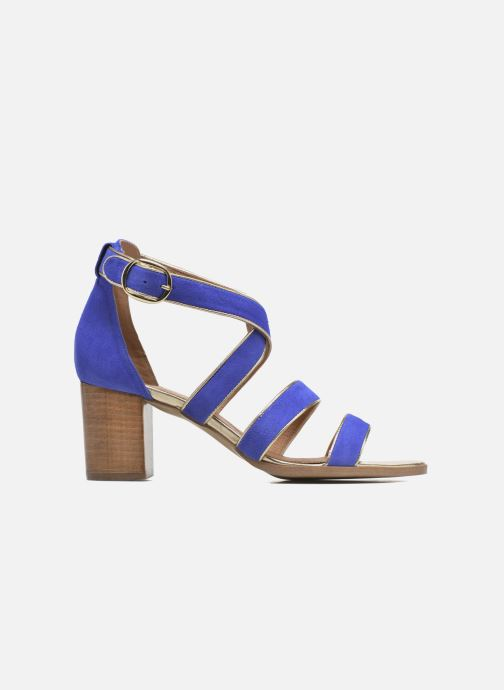 Sandalen Made by SARENZA Urbafrican Sandales à Talons #11 Blauw detail
