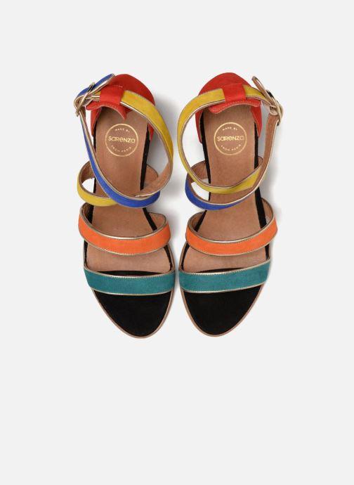 Sandales et nu-pieds Made by SARENZA Urbafrican Sandales à Talons #11 Multicolore vue portées chaussures