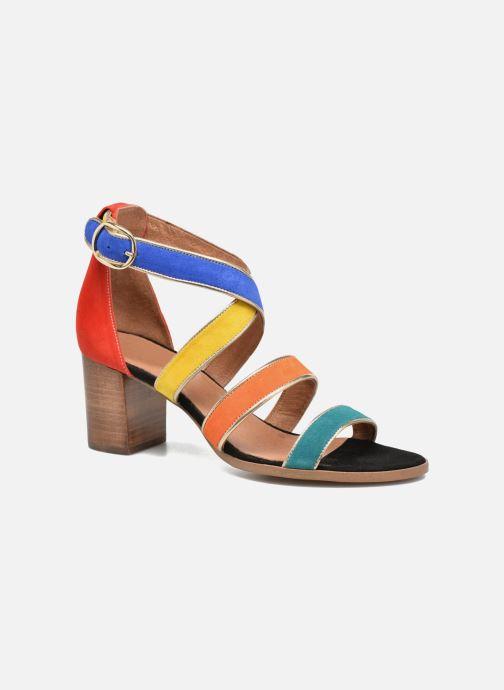 Sandales et nu-pieds Made by SARENZA Urbafrican Sandales à Talons #11 Multicolore vue droite