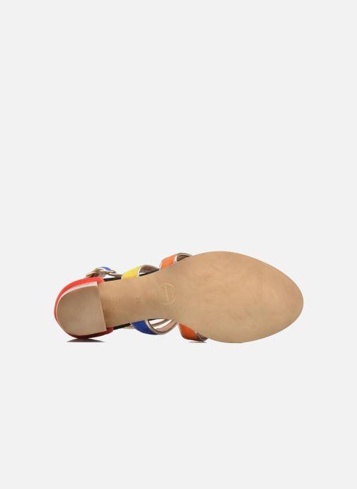 Sandales et nu-pieds Made by SARENZA Urbafrican Sandales à Talons #11 Multicolore vue haut
