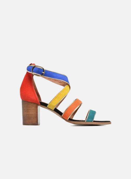 Sandales et nu-pieds Made by SARENZA Urbafrican Sandales à Talons #11 Multicolore vue détail/paire