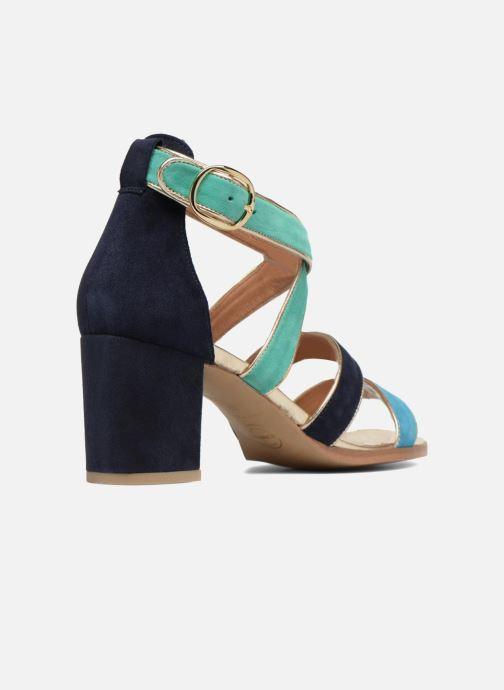 Sandales et nu-pieds Made by SARENZA Riviera Couture Sandales à Talon #8 Multicolore vue face