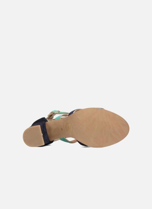 Sandales et nu-pieds Made by SARENZA Riviera Couture Sandales à Talon #8 Multicolore vue haut