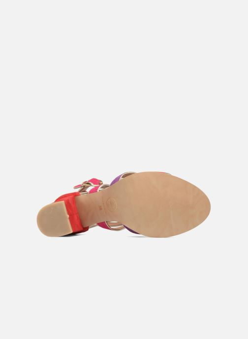 Sandalen Made by SARENZA Riviera Couture Sandales à Talon #8 Multicolor boven