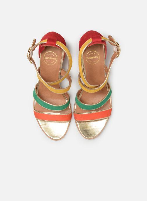 Sandales et nu-pieds Made by SARENZA Riviera Couture Sandales à Talon #8 Multicolore vue portées chaussures