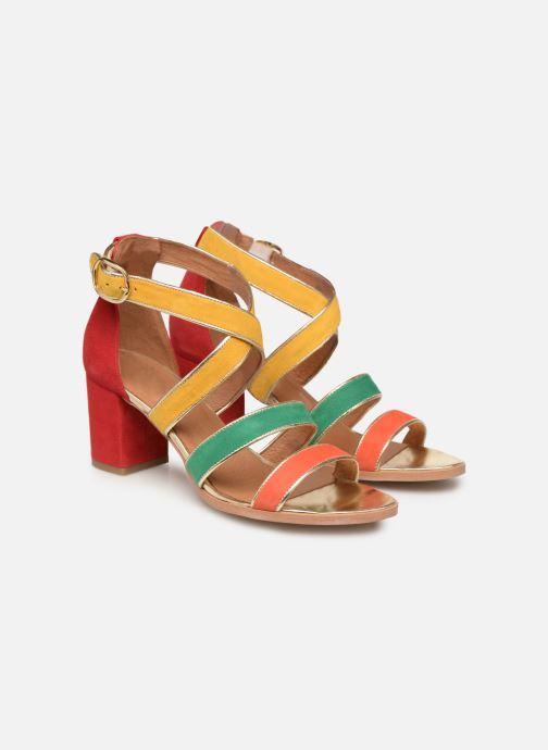 Sandales et nu-pieds Made by SARENZA Urbafrican Sandales à Talons #11 Multicolore vue derrière