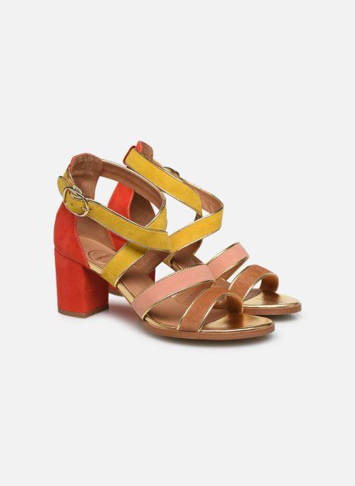 Sandales et nu-pieds Made by SARENZA Riviera Couture Sandales à Talon #8 Multicolore vue derrière