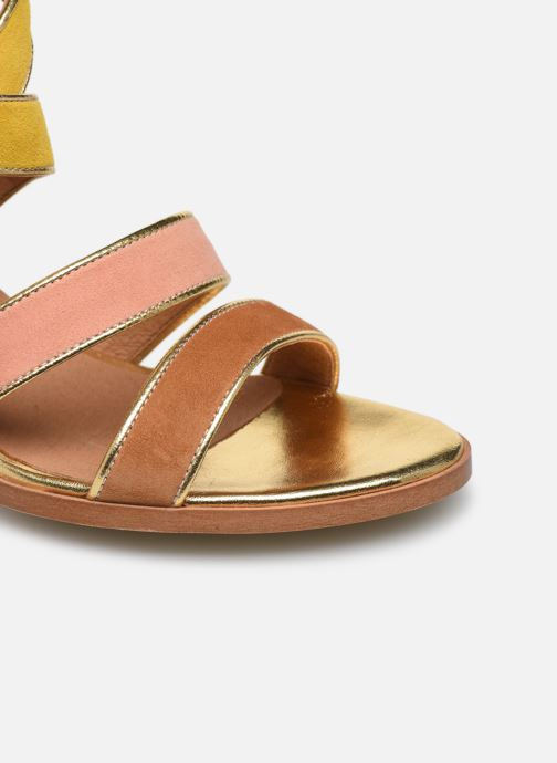 Sandalias Made by SARENZA Riviera Couture Sandales à Talon #8 Multicolor vista lateral izquierda