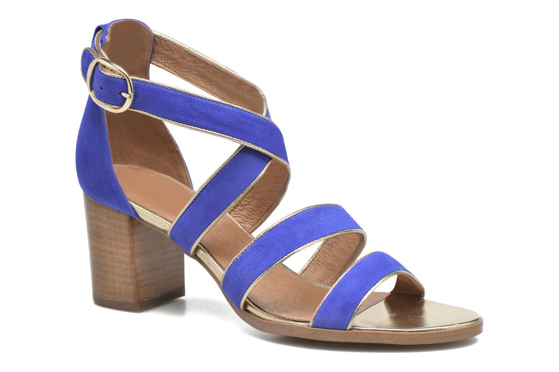 Sandalen Made by SARENZA Bombay Babes Sandales à Talons #2 blau ansicht von rechts