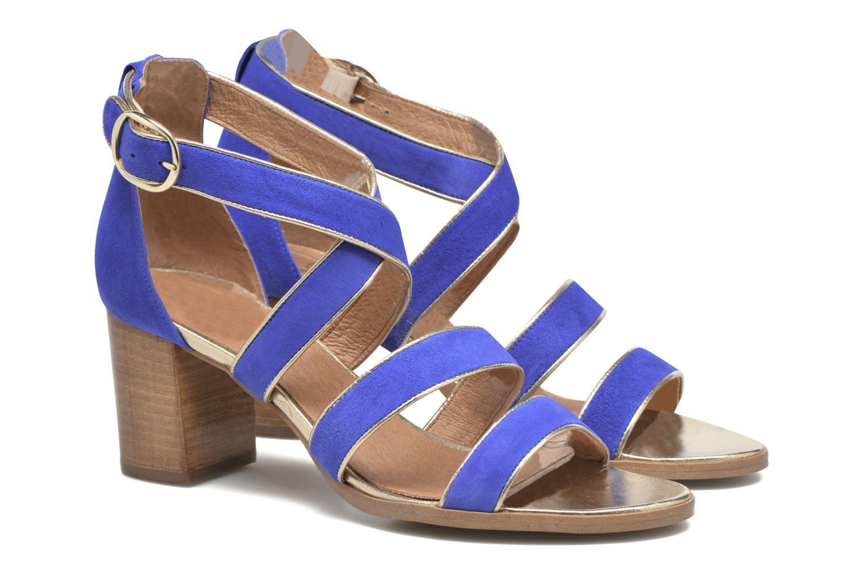 Sandalen Made by SARENZA Bombay Babes Sandales à Talons #2 blau ansicht von hinten