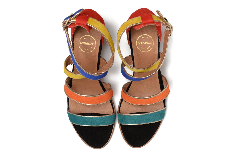 Sandalen Made by SARENZA Bombay Babes Sandales à Talons #2 mehrfarbig schuhe getragen
