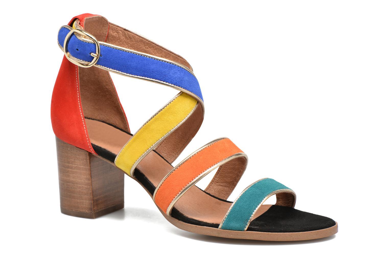 Sandalen Made by SARENZA Bombay Babes Sandales à Talons #2 mehrfarbig ansicht von rechts