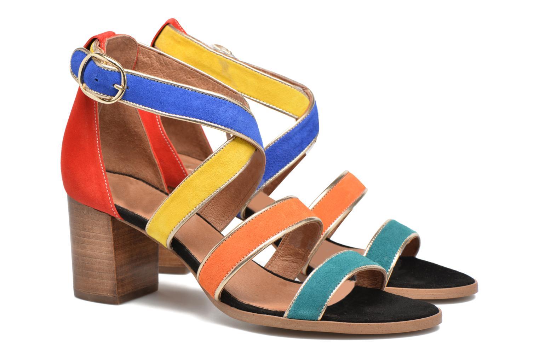 Sandalen Made by SARENZA Bombay Babes Sandales à Talons #2 mehrfarbig ansicht von hinten