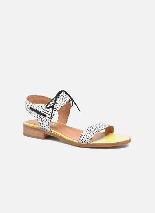 Sandales et nu-pieds Made by SARENZA Pastel Belle #6 Multicolore vue droite