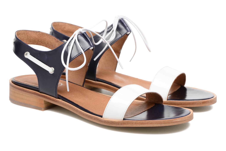 Sandalen Made by SARENZA Pastel Belle #6 blau ansicht von hinten