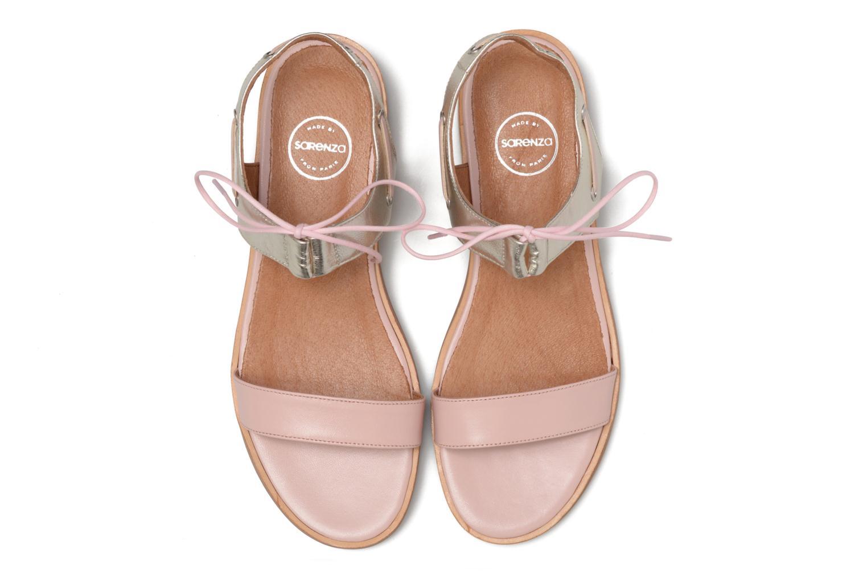 Sandalen Made by SARENZA Pastel Belle #6 rosa schuhe getragen
