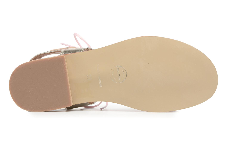 Sandalen Made by SARENZA Pastel Belle #6 rosa ansicht von oben