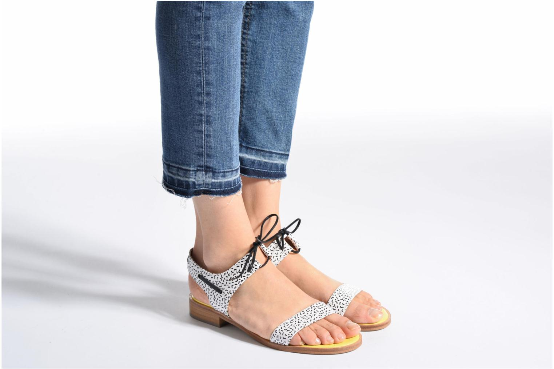 Sandales et nu-pieds Made by SARENZA Pastel Belle #6 Multicolore vue bas / vue portée sac