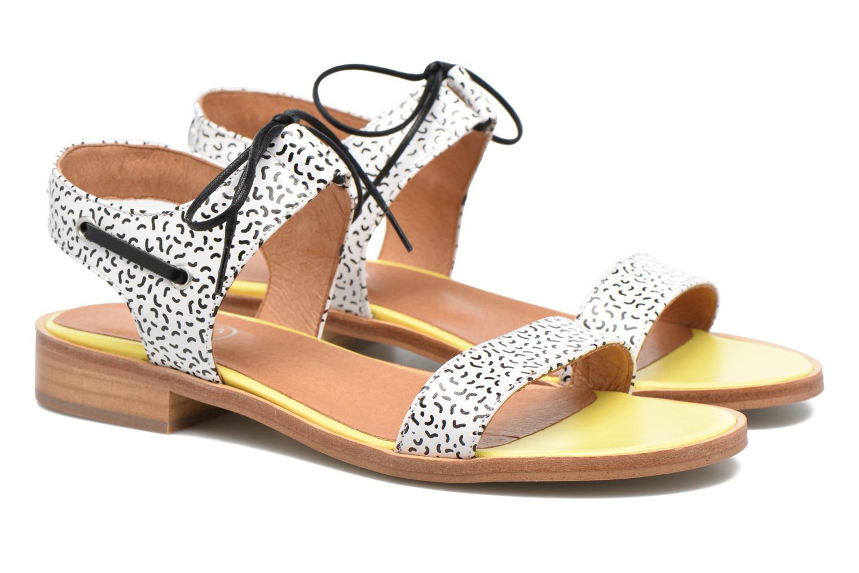 Sandales et nu-pieds Made by SARENZA Pastel Belle #6 Multicolore vue derrière