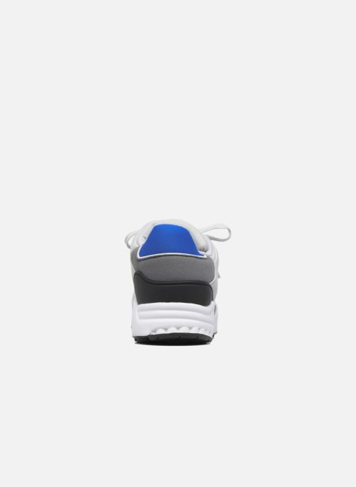 Trainers adidas originals Eqt Support J Blue view from the right