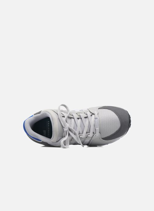 Trainers Adidas Originals Eqt Support J Blue view from the left