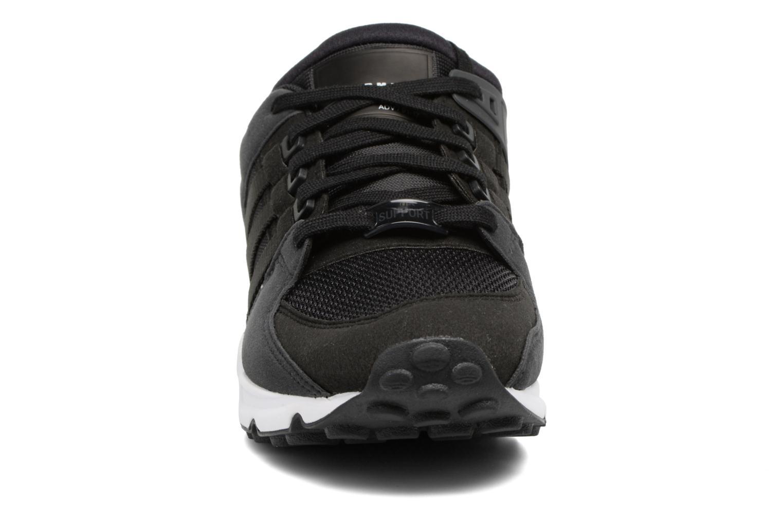 Baskets Adidas Originals Eqt Support J Noir vue portées chaussures