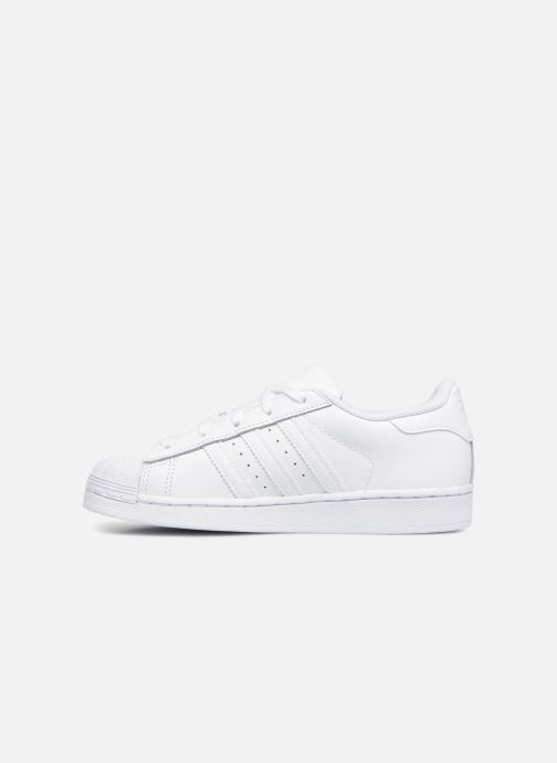 Deportivas adidas originals Superstar C Blanco vista de frente