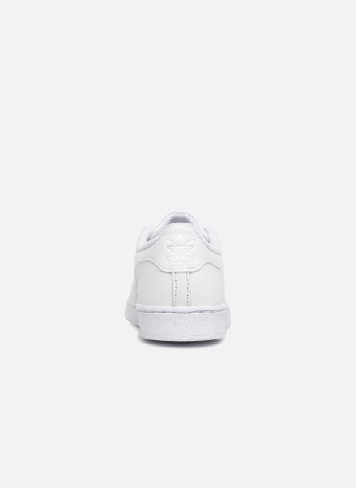 Deportivas adidas originals Superstar C Blanco vista lateral derecha